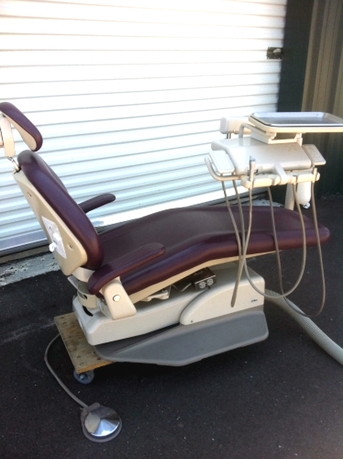 Used Adec 1021 Dental Chair With Cascade Unit Used